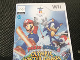 Mario & sonnic at the winter olympic games