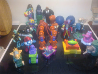 25 stk. Mcdonalds figurer