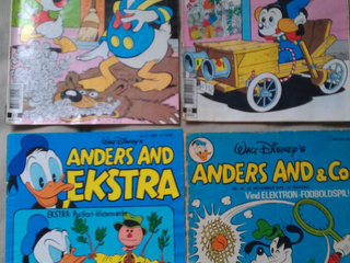 Anders And blandet 1976-1991