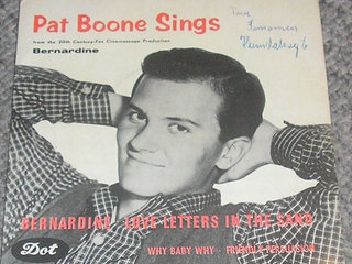 udenlanske single,  pat boone