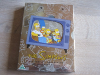 THE Simpsons  3 dvd