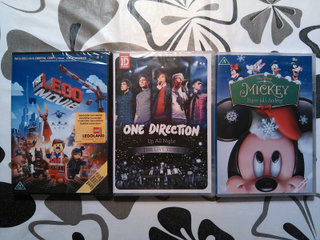 LEGO The Movie, One Direction, Mickey