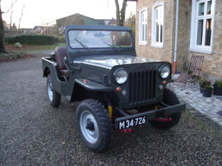 Veteran WILLYS jeep CJ3B - Original