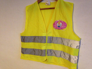 Refleksvest m. Disney Princess