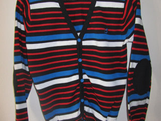 Stribet Cardigan fra Outfitters Nation
