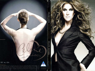 Celine Dion deluxe edition ; DVD og CD ;