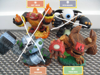 Skylanders Giants figurer