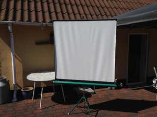 Lærred, Projection Screen