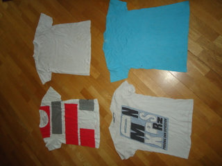5 stk t-shirts str: M