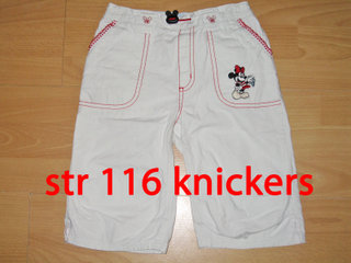 195) str 116 knickers med Mini Mouse