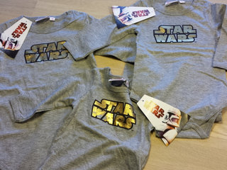 Nye STAR WARS bodyer 50,56,62,68,80