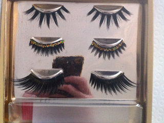 Party eye kit - eye lashes