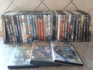 DVD film og World off Warcraft PC spil