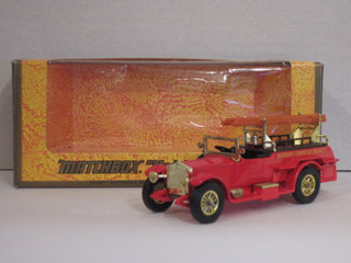 Matchbox biler - Rolls Royce Fire Engine