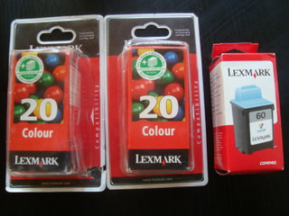 Lexmark Nr 20 color blækpatron original