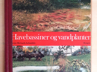 Havebassiner og vandplanter,