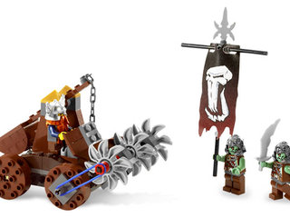 Lego CASTLE 7040: Dwarves Mine Defender