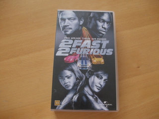 2 fast 2 furious VHS