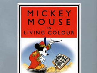 DISNEY ; Mickey Mouse in Living Colour