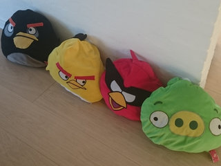 4 Stk. Angry Birds Puder