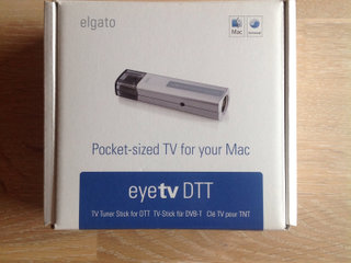 TV Tuner, Elgato Eyetv for MAC
