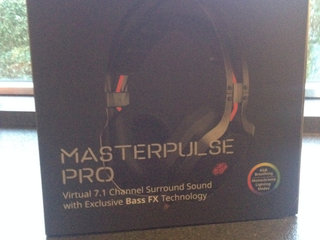 Headset. Coolermaster Masterpulse Pro