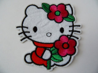 Hello Kitty strygemærker