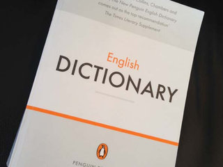THE PENGUIN DICTIONARY - engelsk ordbog