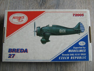 Alliance Models Breda 27  1/72