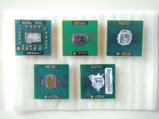 Intel og AMD Bærbar Processors