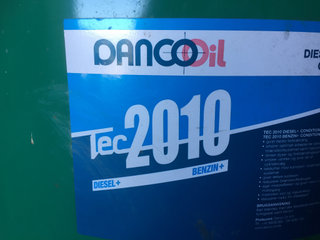 Danco olie TEC 2010
