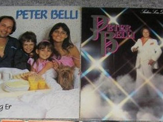2 lp med Peter Belli