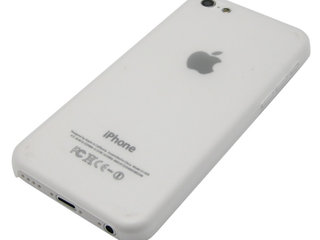 KAMPAGNE VARE, iPhone 5c Ultrathin pc Case - Hvid
