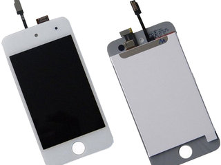 Kampagne vare, iPod Touch 4th Gen LCD Display med Digitizer Touch Panel - Hvid