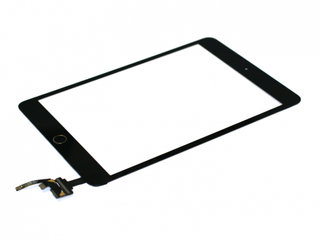 iPad Mini 3 Digitizer Touch Skærm Assembly - Sort - Grade A+