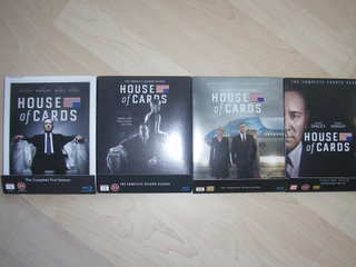 House of Cards - sæson 1-4 - Blu-Ray