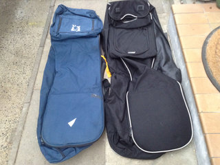 2 rejsecover for golfbag