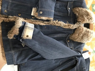 Denim jakke og buks