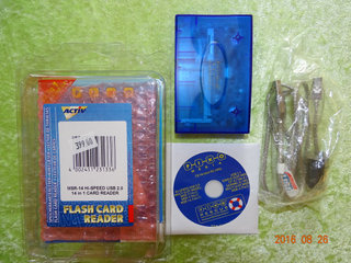 Flash card reader til XD, SD, SM, MS, CF