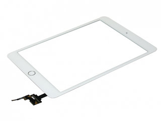 iPad Mini 3 Digitizer Touch Skærm Assembly - Hvid - Grade A+