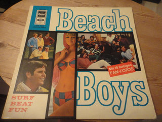 LP - BEACH BOYS - Surf - Beat - Fun