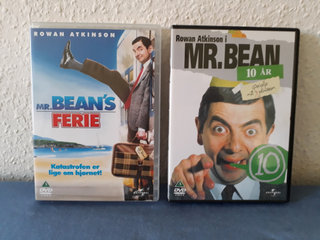 Mr. Bean's Ferie & Mr. Bean 10 år - DVD