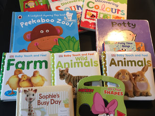 Children's English board books