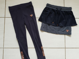 hummel nederdel og leggings, str. 110