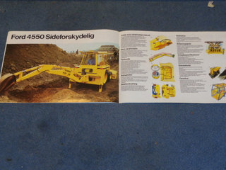 Ford 4550 rendegraver brochure