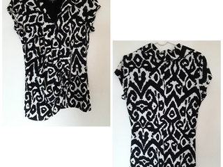 Molly-Jo Bluse i str. xl