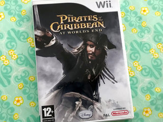 Wii PIRATES of the CARIBBEAN spil