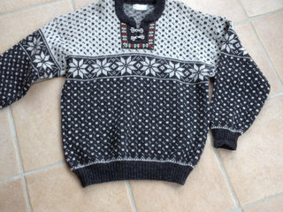 Sweater i norsk uld