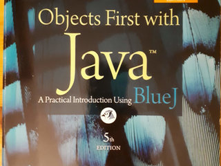 Objects First with Java, David J. Barnes