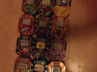 Pokemon Tomme Tins-Dåser